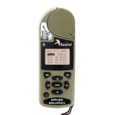 Kestrel Weather Meters Kestrel 4500NV Bluetooth Complete Weather & Environmental Meter w/Datalogging, Desert Tan
