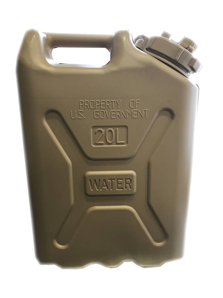 Scepter Scepter Military Water Can 20L Tan Government Markings