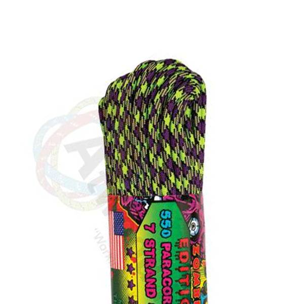 Atwood Rope MFG Atwood Rope MFG 550 Paracord 100ft - Zombie