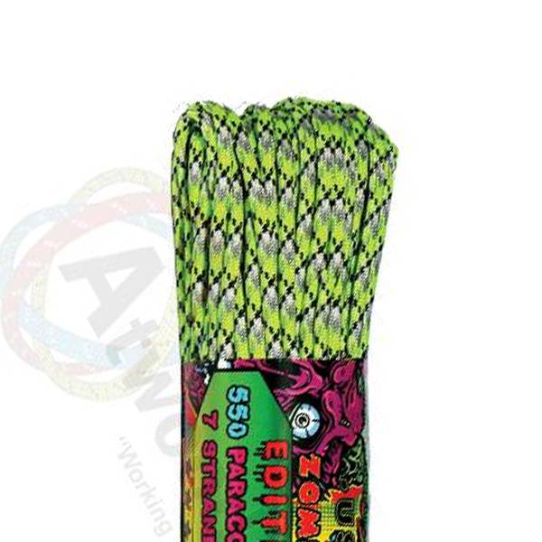 Atwood Rope MFG Atwood Rope MFG 550 Paracord 100ft - Biosludge