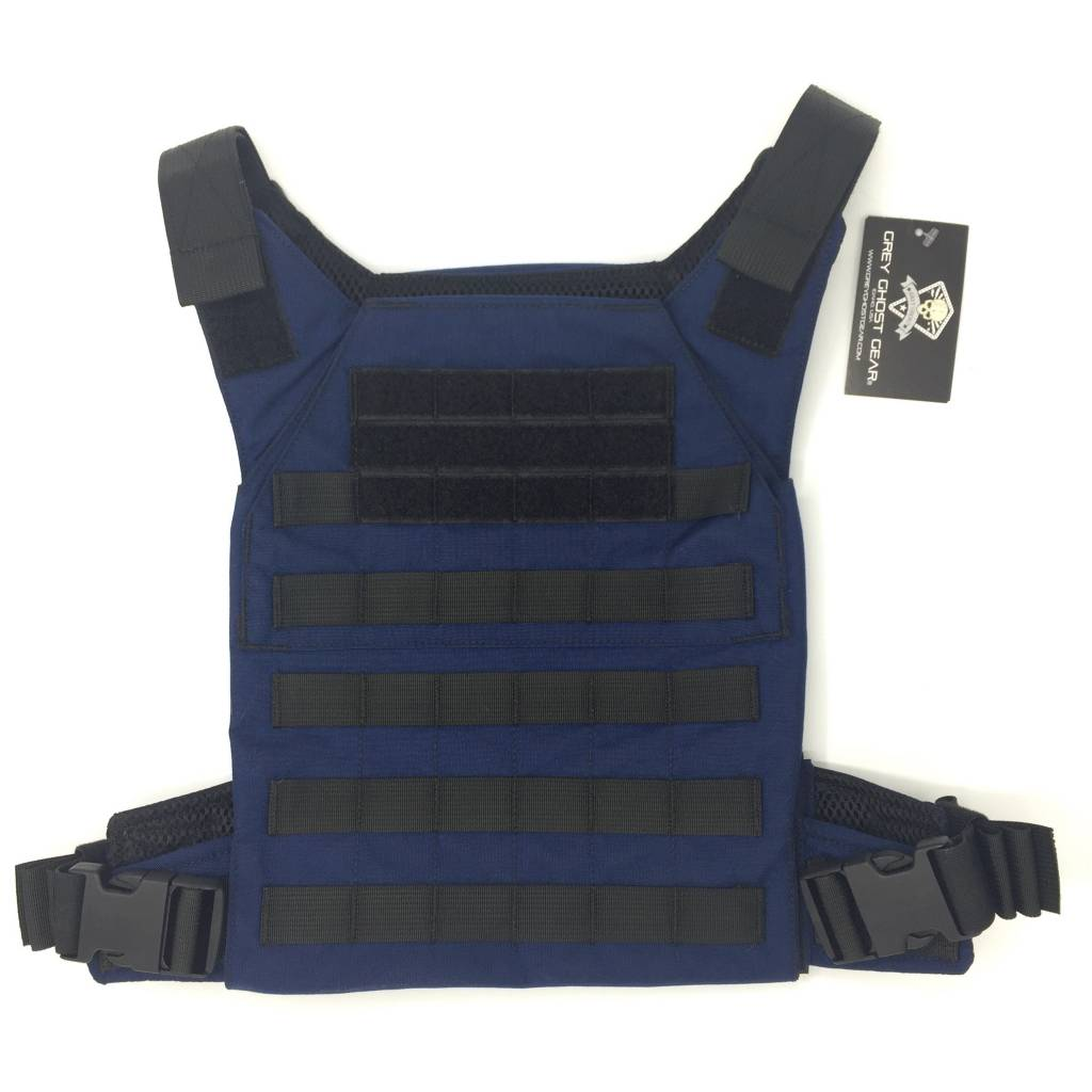 Grey Ghost Gear Minimalist Plate Carrier - Navy Blue - DS Tactical