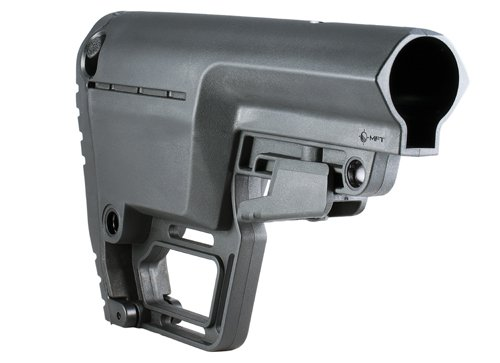 Mission First Tactical MFT Battlelink Utility Stock (BUS) Black for Commercial Buffer Tube