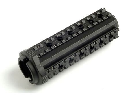 Mission First Tactical MFT Quad Rail Aluminum Handguard (M44SM) Black