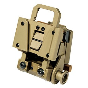 Wilcox L4 Series G24 Mount with low profile breakaway base for AN/PVS-14 arm & AN/PVS-15/18