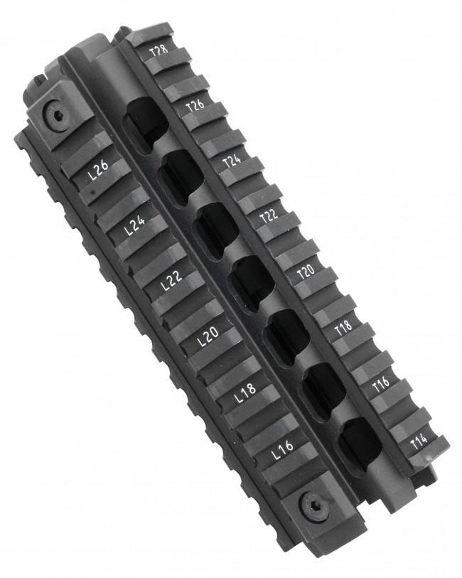 ERGO Grips ERGO Z Rail AR15/M-16 Handguard Replacement Rail System W/Piston Cut