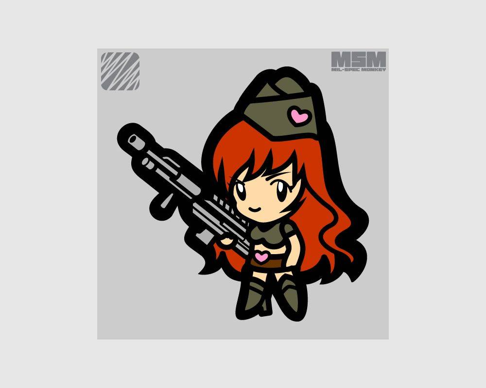Milspec Monkey Milspec Monkey Gun Girl 1
