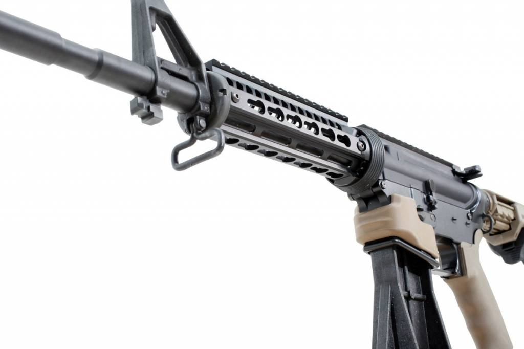 ERGO Grips ERGO KeyMod Ultra-Lite Slim 2-Piece Handguard Replacement - Black