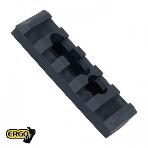 ERGO Grips ERGO 5-slot Polymer M1913 RAIL (1 mounting hole, 1 slot w/ Hardware)