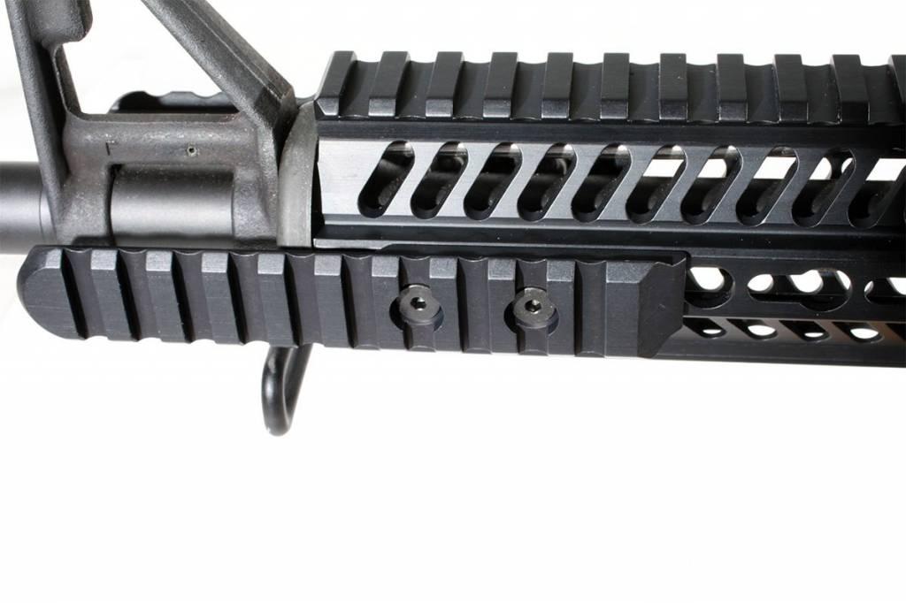 ERGO Grips ERGO 10-Slot KeyMod Aluminum UMP Picatinny Rail (2 mounting holes)-Black