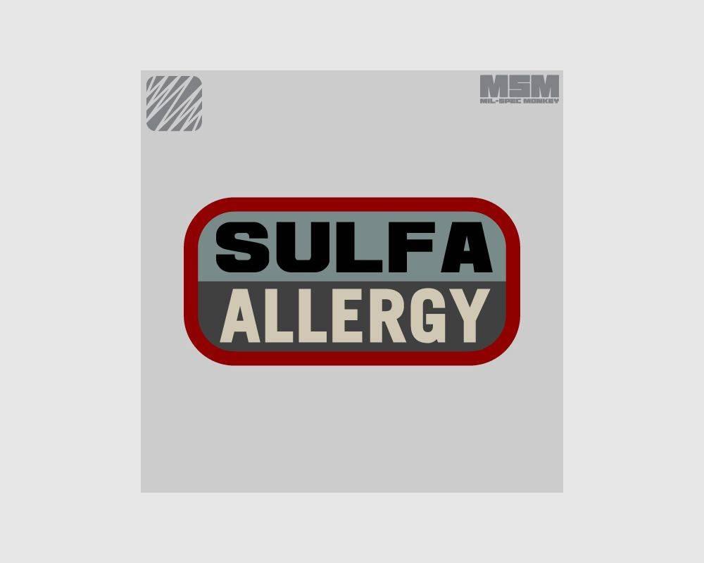 Milspec Monkey Milspec Monkey Sulfa Allergy