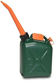 Scepter Scepter Military Fuel Can Naphtha 3.8L/1G, Forest Green