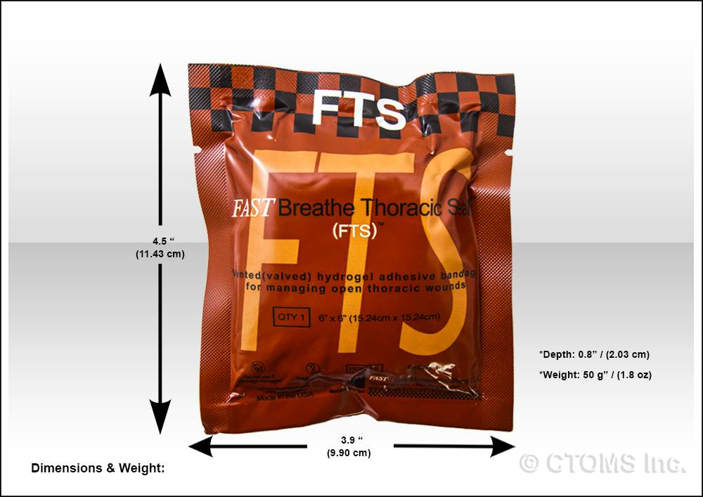 FastTrack Medical Solutions FastBreathe Thoracic Seal (FTS)