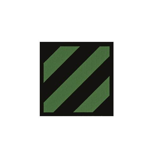 3rd Infantry Division IR Patch, OD Green