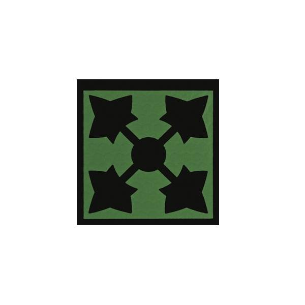 4th Infantry Division IR Patch, OD Green