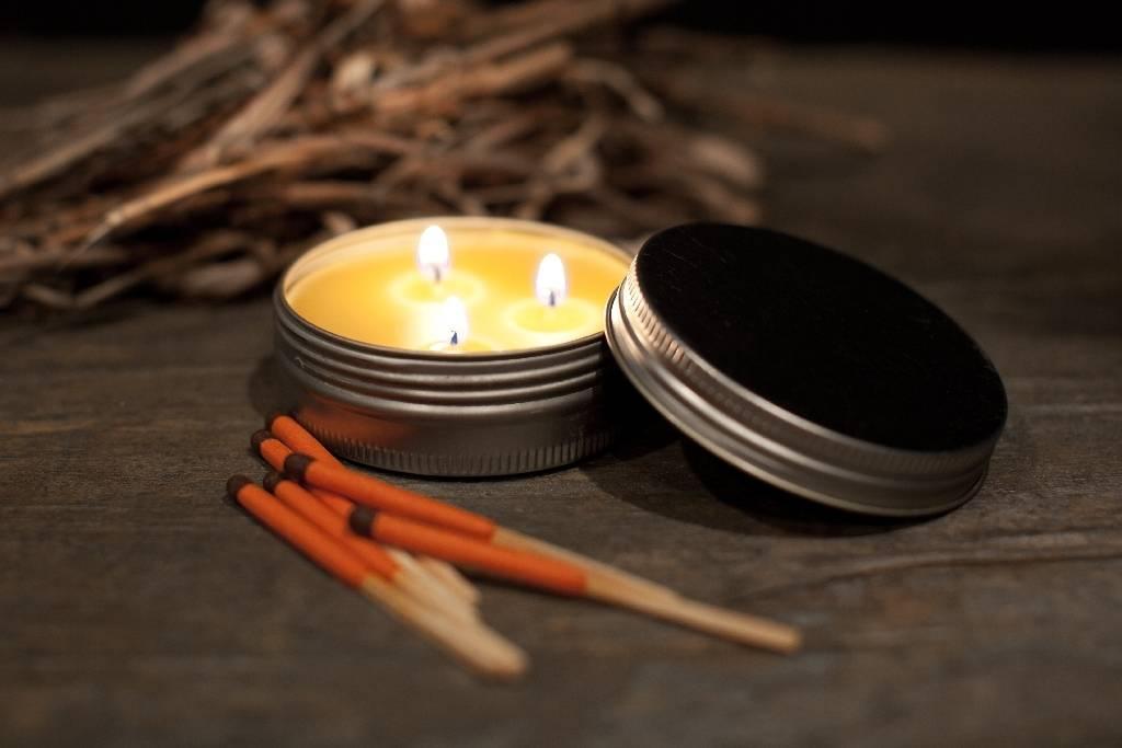 Exotac Exotac candleTIN - Hot Burn