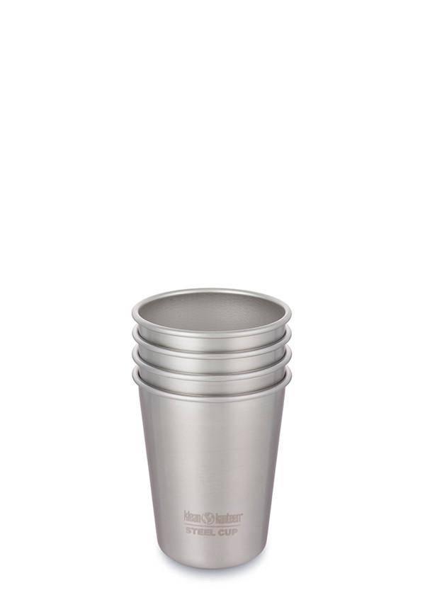 Klean Kanteen 10oz Kanteen Cup - Brushed Stainless - 4-pack