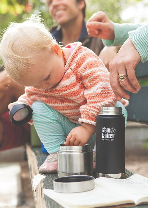 Klean Kanteen 8oz Stainless Steel Insulated Food Canister - Brushed Stainless
