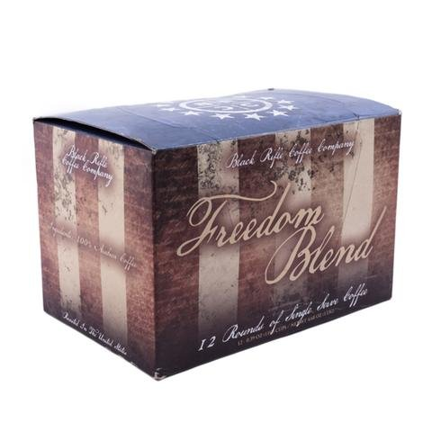 Black Rifle Coffee Company Freedom Blend Coffee 12 Rounds Pack