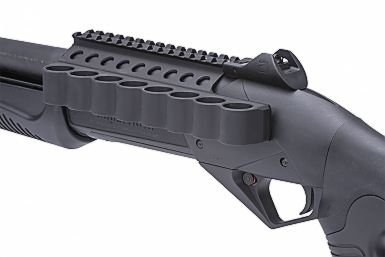 Mesa Tactical Mesa Tactical SureShell Aluminum Carrier and Rail for Ben SuperNova (8-Shell, 12-GA, 5½ in)