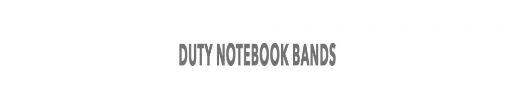 Duty Notebooks