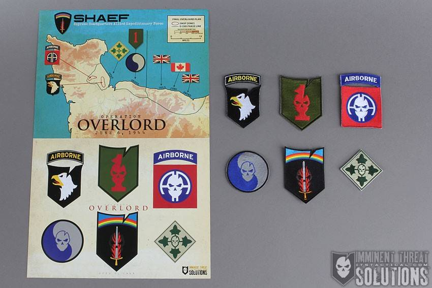 ITS Tactical ITS WWII D-Day Patch Collection *(Ltd.)