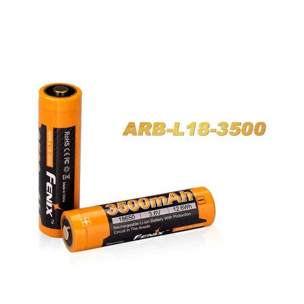Fenix Fenix High-Capacity 18650 Battery 3500 mAh