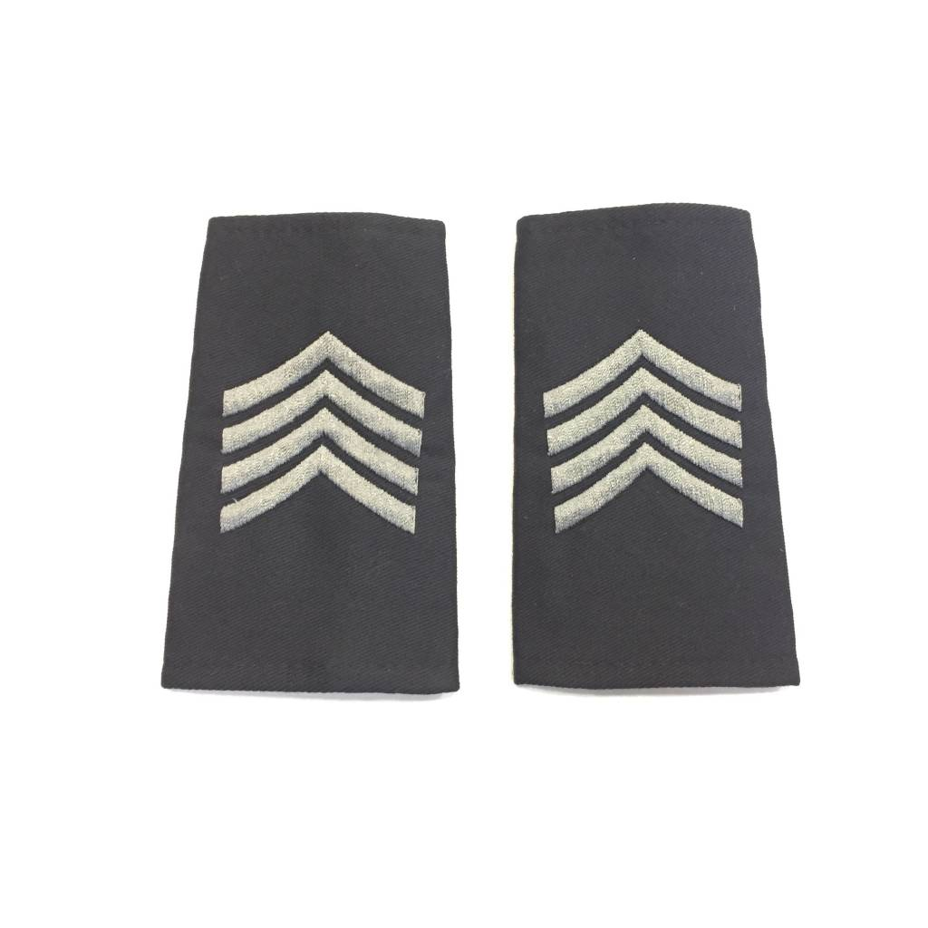 Custom Subdued Epaulettes, Staff Sergeant, 1 Pair