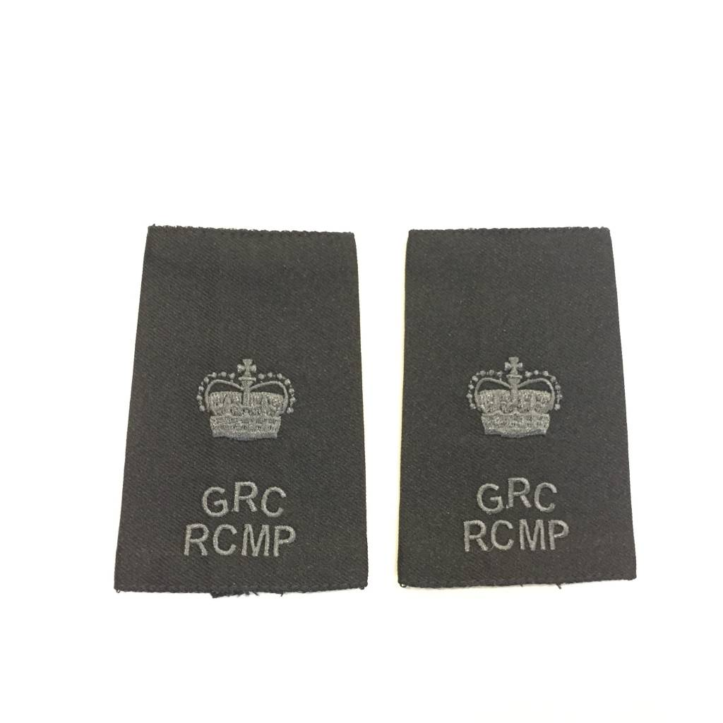 Custom Subdued Epaulettes, Inspector, 1 Pair