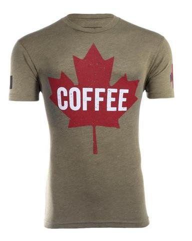 Black Rifle Coffee Company INSTORE - Coffee Maple Leaf Shirt