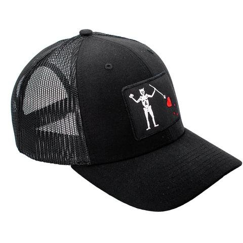 Black Rifle Coffee Company INSTORE - BRCC Blackbeard's Flag Hat - All Black