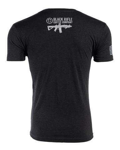 Black Rifle Coffee Company INSTORE - BRCC Company T-Shirt Gray Logo: vintage