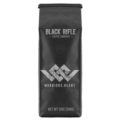 Black Rifle Coffee Company INSTORE - BRCC Warriors Heart Blend - Whole Bean - 12 oz Bag