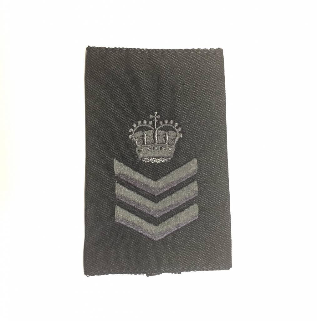 Custom Subdued Epaulettes, Sergeant (RCMP), 1 Pair