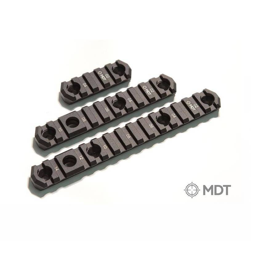 "MDT MDT 5.0"" M-LOK Picatinny Rail with Flush Cup Sling Mounts"