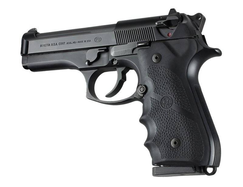 Hogue Beretta 92/96 Series Rubber Grip with Finger Grooves