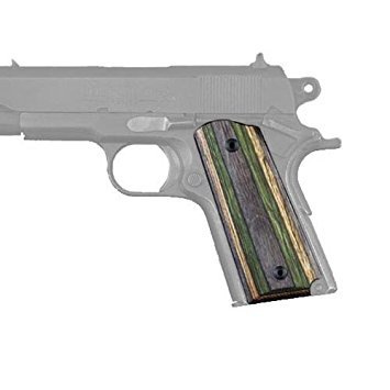 Hogue 1911 Officers Model Lamo Camo