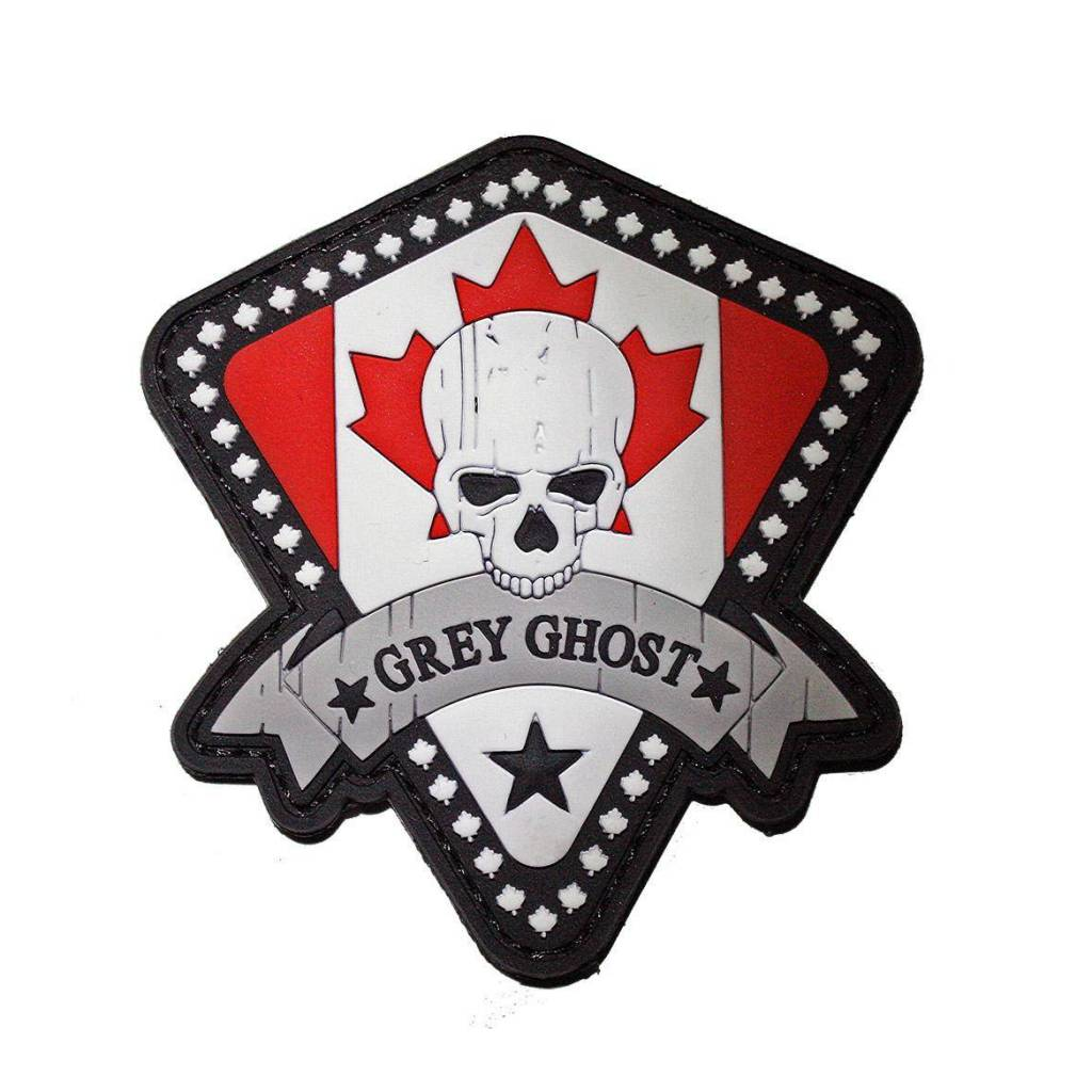 Grey Ghost Gear Canada Grey Ghost Canada PVC Patch