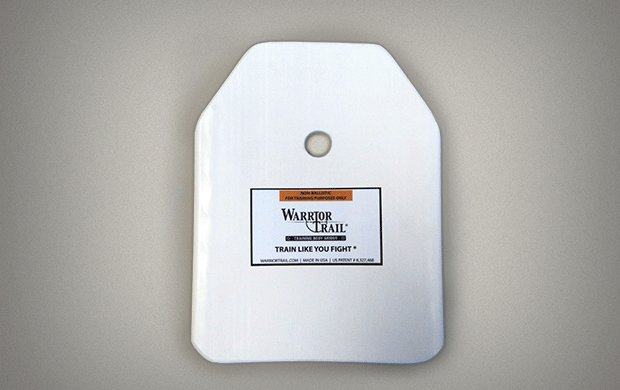 WarriorTrail WarriorTrail Enhanced Small Arms Protective Insert (ESAPI) Training Plate, 1 pair