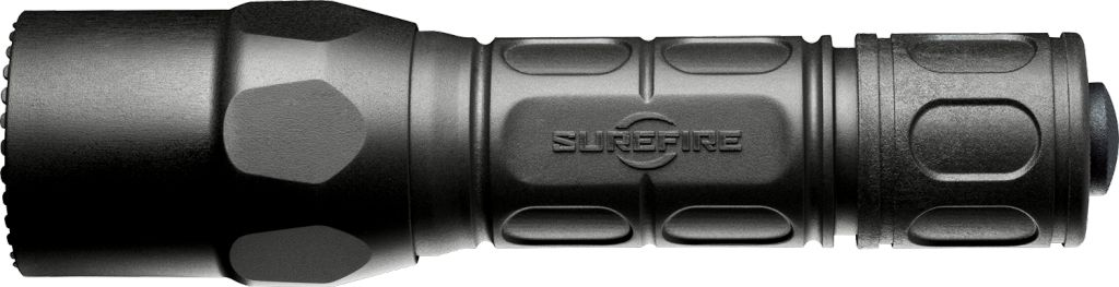 Surefire Surefire G2XTactical, 6 Volt, Single Stage 600 Lu, Wh LED, Polymer & Aluminum, Black, Click Switch