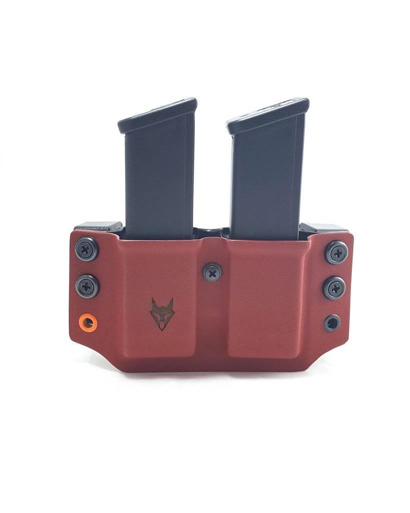 """Gray Fox Strategic Gray Fox Strategic Wyvern Glock 9/40 Mag Carrier w/ 1.5"""" Belt Loops"""