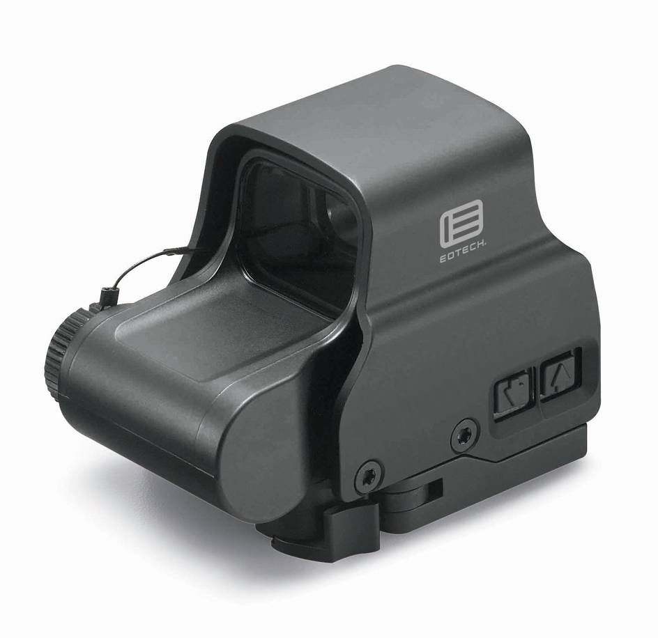 EOTech EOTech EXPS2-2 Weapon Sight, Single CR123 battery, 68 MOA Ring-(2) MOA Dots, Single QD Lever Black