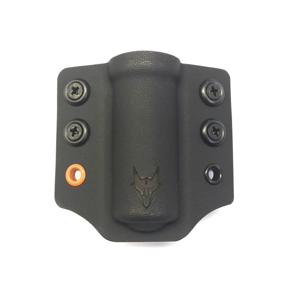 "Gray Fox Strategic Gray Fox Strategic Lampetia Flashlight/ASP Carrier w/ 1.5"" Belt Loops, Black"