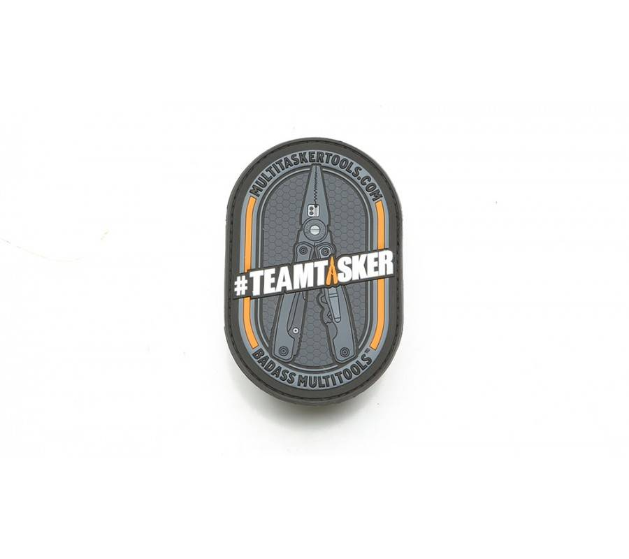 Multitasker Multitasker TeamTasker Patch, Black/Orange