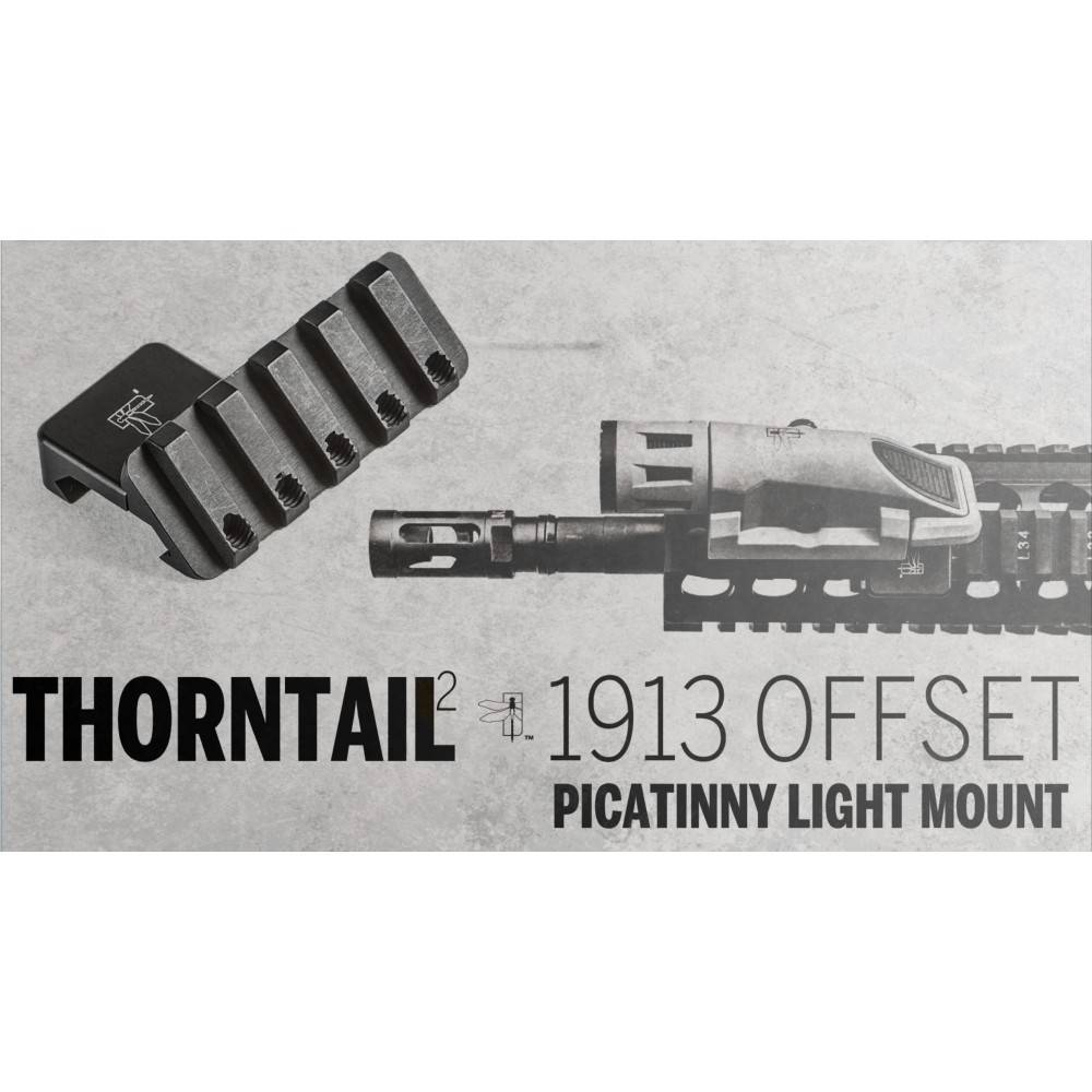 Haley Strategic Haley Strategic Thorntail2 1913 Offset Light Mount for Picatinny