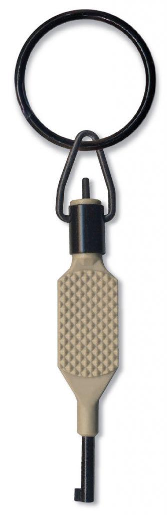 Zak Tool Zak Tool Knurled Flat Grip Swivel Key - Polymer