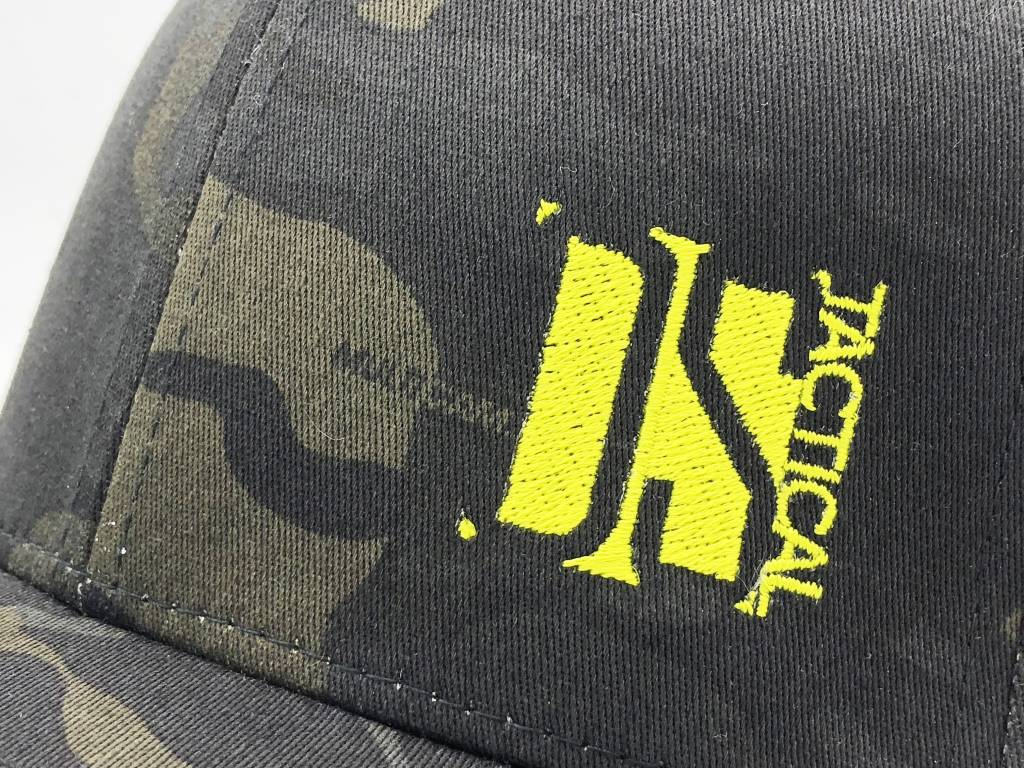 """DS Tactical DST """"Square"""" Logo Flex Fit Cap - Multicam Black"""