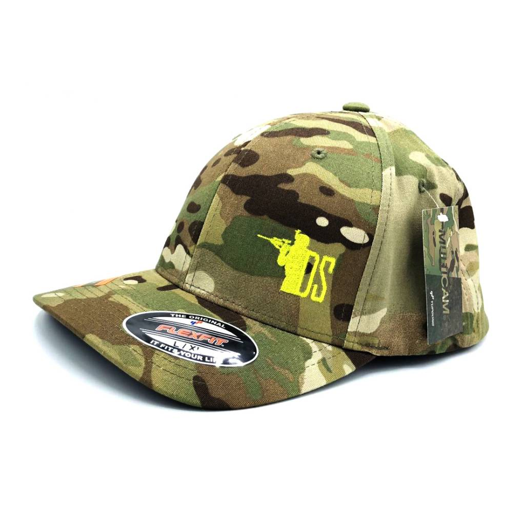 "DS Tactical DST ""Gun Guy"" Logo Flex Fit Cap - Multicam"