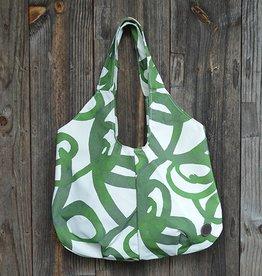 Jill Shopping Bag in Canvas Loop Cypress