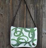 Duke Messenger Bag in Canvas Loop Cypress