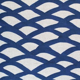 steve mckenzie's Scallop Print Fabric Oyster Background